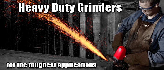 Heavy Duty Grinders from Chicago Pneumatic